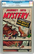 Silver Age (1956-1969):Horror, Journey Into Mystery #65 (Marvel, 1961) CGC VF+ 8.5 Off-whitepages....