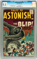 Silver Age (1956-1969):Mystery, Tales to Astonish #15 (Marvel, 1961) CGC VF+ 8.5 Off-white to whitepages....