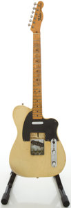 Musical Instruments:Electric Guitars, 1950 - 1968 Fender Telecaster Refinished Solid Body ElectricGuitar, #PP0898....