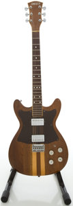 Musical Instruments:Electric Guitars, Circa 1979 Gretsch Beast 5000 Walnut Solid Body Electric Guitar....