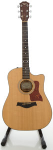 Musical Instruments:Acoustic Guitars, 2004 Taylor 310-CE-L7 Koa Acoustic Electric Guitar,#20041011022....
