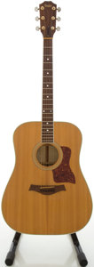 Musical Instruments:Acoustic Guitars, Circa 1986 Taylor 610 Natural Acoustic Guitar, #4393....