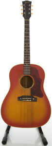 Musical Instruments:Acoustic Guitars, 1966 Gibson J-45 Cherry Sunburst Acoustic Guitar, #858080....