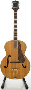 Musical Instruments:Acoustic Guitars, Circa 1950's Gretsch Synchromatic Natural Archtop AcousticGuitar....