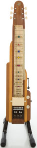Musical Instruments:Lap Steel Guitars, 1955 National Two-Tone Lap Steel Guitar, #X53705....