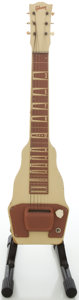 Musical Instruments:Lap Steel Guitars, Early 1950's Gibson BR-9 Tan Lap Steel Guitar....