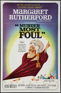 """Murder Most Foul & Other Lot (MGM, 1964). One Sheets (2) (27"""" X 41""""). Comedy. ... (Total: 2 Items)"""