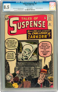 Silver Age (1956-1969):Mystery, Tales of Suspense #35 (Marvel, 1962) CGC VF+ 8.5 Off-whitepages....