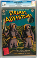 Golden Age (1938-1955):Science Fiction, Strange Adventures #1 (DC, 1950) CGC GD/VG 3.0 Cream to off-whitepages....