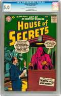 Silver Age (1956-1969):Horror, House of Secrets #4 (DC, 1957) CGC VG/FN 5.0 Cream to off-whitepages....