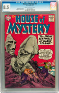 Silver Age (1956-1969):Horror, House of Mystery #85 (DC, 1959) CGC VF+ 8.5 Cream to off-whitepages....