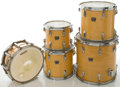 Musical Instruments:Drums & Percussion, Circa 1984 Tama Natural Drum Set, #84-04488....
