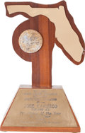 Baseball Collectibles:Others, 1988 Jose Canseco Pro Athlete of the Year Award....