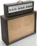 Musical Instruments:Amplifiers, PA, & Effects, 1960's Silvertone 1484 Guitar Amplifier....