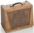 Musical Instruments:Amplifiers, PA, & Effects, 1950's Orpheus Model 707 Tan Guitar Amplifier....