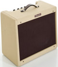 Musical Instruments:Amplifiers, PA, & Effects, Fender Blues Junior White Guitar Amplifier, #B-107633....