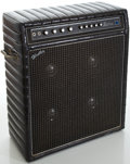 Musical Instruments:Amplifiers, PA, & Effects, 1970's Kustom Hustler 24-L Black Guitar Amplifier, #88584....