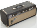 Musical Instruments:Amplifiers, PA, & Effects, Circa 1967 Fender Dual Showman Amp Blackface Guitar Amplifier, #A10796....