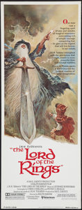 "Movie Posters:Animated, The Lord of the Rings (United Artists, 1978). Insert (14"" X 36""). Animated.. ..."