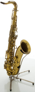 Musical Instruments:Horns & Wind Instruments, Circa 1964 Selmer Mark VI Brass Tenor Saxophone, #114755....