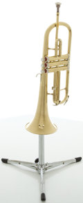 Musical Instruments:Horns & Wind Instruments, Circa late 1960's Conn Flugelhorn Brass, #K54394....