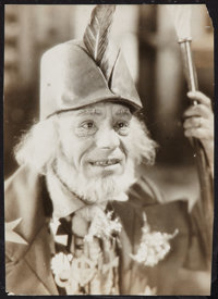 "Lon Chaney in The Tower of Lies (MGM, 1925). Portrait Photo (9.5"" X 13""). Miscellaneous"