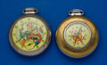 "Timepieces:Pocket (post 1900), Two Dollar Pocket Watches Buck Rogers & Captain Marvel""Runners"". ... (Total: 2 Items)"