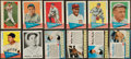 Baseball Cards:Lots, 1960 - 1963 Topps, Jell-O, Post Cereal, Leaf and Fleer BaseballCard Collection (341). ...