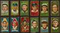Baseball Cards:Lots, 1911 T205 Piedmont Gold Borders Baseball Collection (12). ...