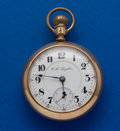 Timepieces:Pocket (post 1900), Rockford 21 Jewel Private Label RG Grade Pocket Watch. ...
