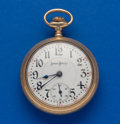 Timepieces:Pocket (post 1900), Illinois 19 Jewel Bunn 18 Size Pocket Watch. ...