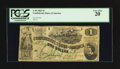 Confederate Notes:1862 Issues, Fully Framed T45 $1 1862.. ...