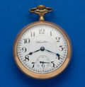Timepieces:Pocket (post 1900), Hamilton 23 Jewel Grade 946 Gold Filled Pocket Watch. ...
