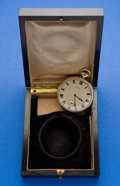 Timepieces:Pocket (post 1900), Howard 17 Jewel 14k Gold Open Face Pocket Watch. ...