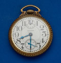 Timepieces:Pocket (post 1900), Waltham Vanguard 23 Jewel Up/Down Indicator Pocket Watch. ...