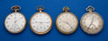 Timepieces:Pocket (post 1900), Four 12 Size Pocket Watches Three Are Runners. ... (Total: 4 Items)