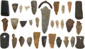Pre-Columbian:Stone, Lot of Assorted Ethnographic Stone Points and Tools.... (Total: 31Items)