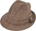 "Baseball Collectibles:Others, Circa 1960 Mel Allen ""Game Worn"" Fedora...."