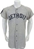 Baseball Collectibles:Uniforms, 1968 Jim Northrup Game Worn Detroit Tigers Jersey....