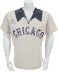 Baseball Collectibles:Uniforms, 1976 Minnie Minoso Game Worn Chicago White Sox Jersey....