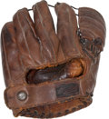 Baseball Collectibles:Others, Early 1950's Billy Martin Game Worn Fielder's Glove....