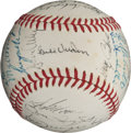 Autographs:Baseballs, 1971 Pittsburgh Pirates Team Signed Baseball....