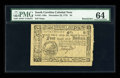 Colonial Notes:South Carolina, South Carolina December 23, 1776 $4 PMG Choice Uncirculated 64....