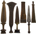 Antiques:Antiquities, Lot of Four Assorted Ethnographic Weapons from Central Africa.... (Total: 4 Items)