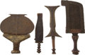 Antiques:Antiquities, Lot of Four Assorted Ethnographic Weapons from Central Africa.. ... (Total: 4 Items)