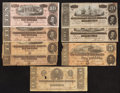Confederate Notes:1864 Issues, 1864 Issue Medley.. ... (Total: 9 notes)