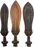 Antiques:Antiquities, Lot of Three Ethnographic Weapons From Central Africa.... (Total: 3Items)