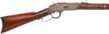 Long Guns:Lever Action, Winchester Third Model 1873 Saddle Ring Carbine....