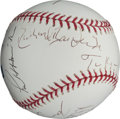 Autographs:Baseballs, Circa 2001 9/11 Commission Signed Baseball....