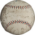 Autographs:Baseballs, 1924 St. Louis Browns Team Signed Baseball....